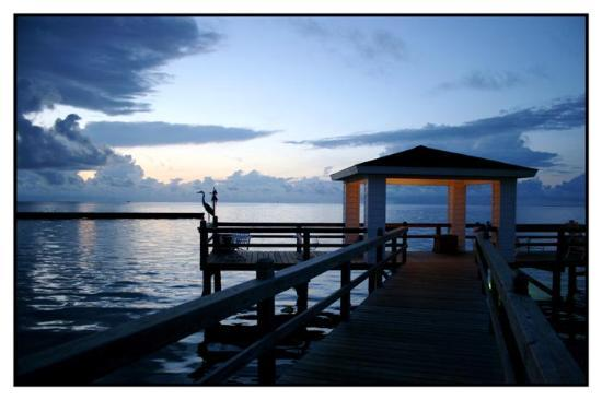 Lighthouse Inn at Aransas Bay: what a gorgeous sunrise