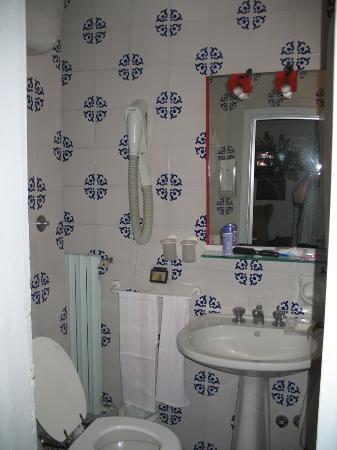 Sesto Fiorentino, Italy: Bathroom (great shower)