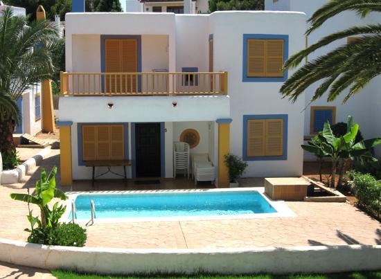 S'Argamassa Villas: View of a villa