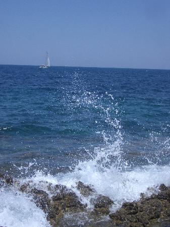 Otranto, Italien: The coastline