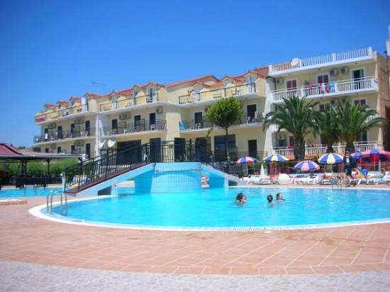 Ellenis Studios and Apartments, Laganas, Zante, Greece. Book ...