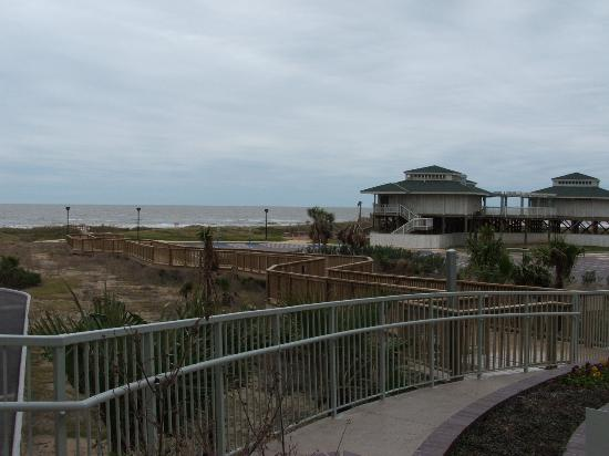 Holiday Inn Club Vacations Galveston Beach Resort: The boardwalk