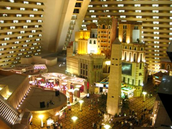 Las Vegas Nv Inside The Pyramid