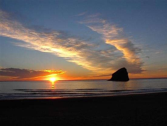 Inn At Cape Kiwanda: GODS KISS GOODNIGHT