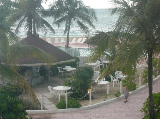 Blue Water Resort on Cable Beach: view from our villa & sundeck