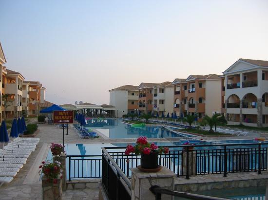 Alykanas Village Hotel: View from main bar terrace