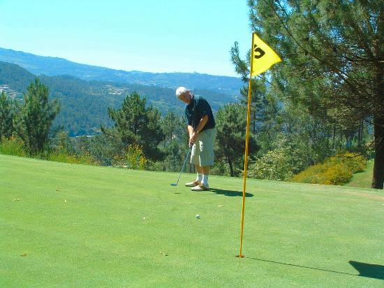 Oporto, Portugal: Playing the mountain course