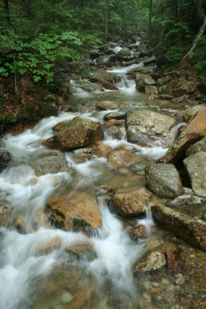 Franconia, Nueva Hampshire: The Flume