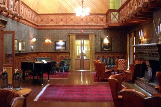Dalen Hotel: La sala interna