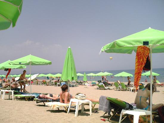 Golden Beach Hotel: la plage