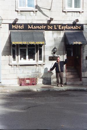 Manoir de L'Esplanade: A happy memory of Quebec City