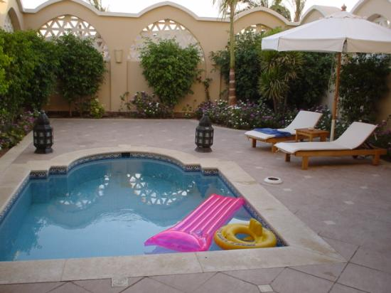 Jaz Makadi Star & Spa : Private pool in deluxe suite