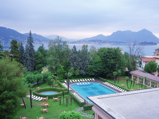 Hotel Simplon: View from balcony