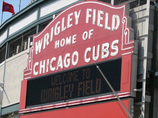شيكاغو, إلينوي: Wrigley sign
