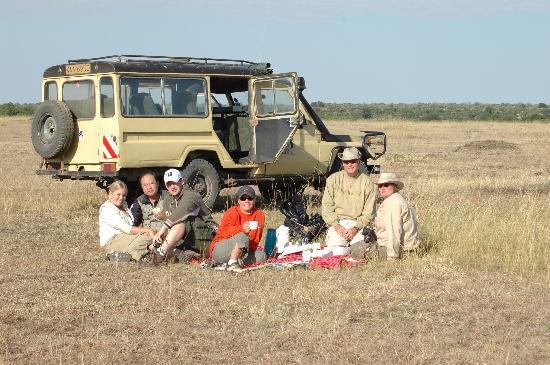 Fairmont Mara Safari Club: Breakfast on the Mara