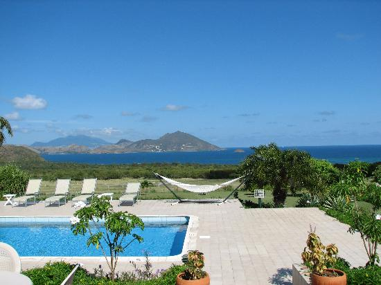 The Mount Nevis Hotel: View from the Pool