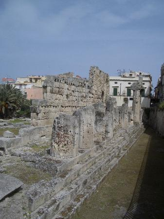 Syracuse, Italië: Siracusa, Temple of Apollo