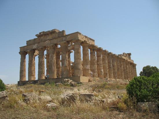 Sciacca, Italy: Greek temple, Selinunte