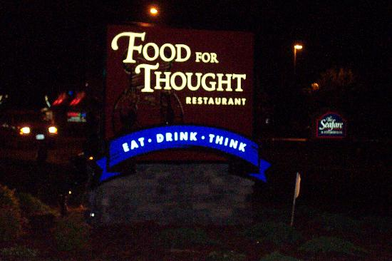 Food For Thought: What A Wonderful Place!