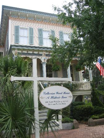 Catherine Ward House Inn: This is the house here