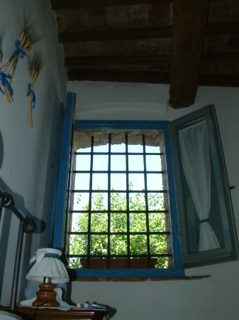 Il Poggiarello - La Ripa: Blue Apartment Window