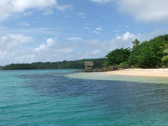 Tongan Beach Resort: beach at the Tongan