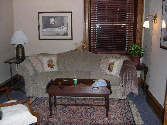 Kennett House Bed & Breakfast: Longwood suite