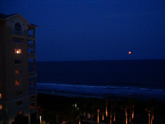 Beautiful Moon At Night From Balcony Picture Of Marriott