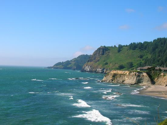 Newport, OR: Devil's Punch Bowl Park Coastline