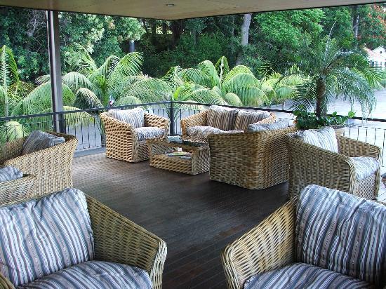Quinta da Casa Branca: Outside Terrace