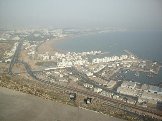 Agador Tamlelt : Agadir from Kasbah