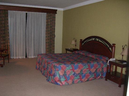 Hotel Los Parrales: Bedroom