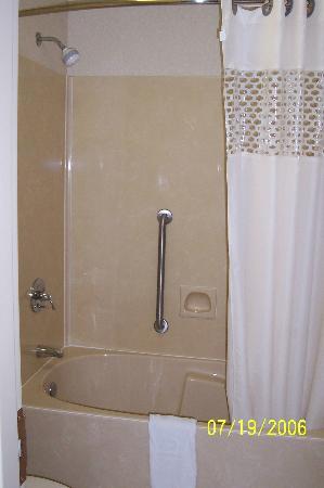 Quality Inn Paris/Ky Lake Area: Shower Curtain