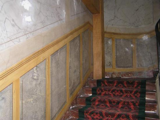 Hotel d'Angleterre, Saint Germain des Pres: Staircase