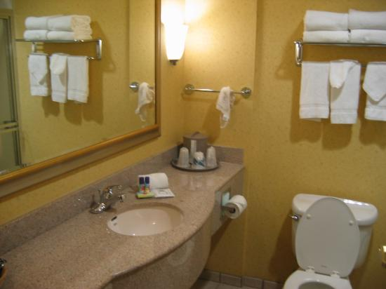 Sleep Inn & Suites: Bathroom