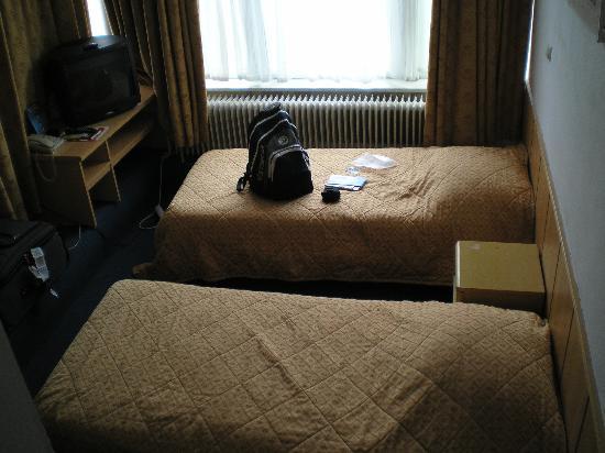Nieuw Slotania Hotel: our double room
