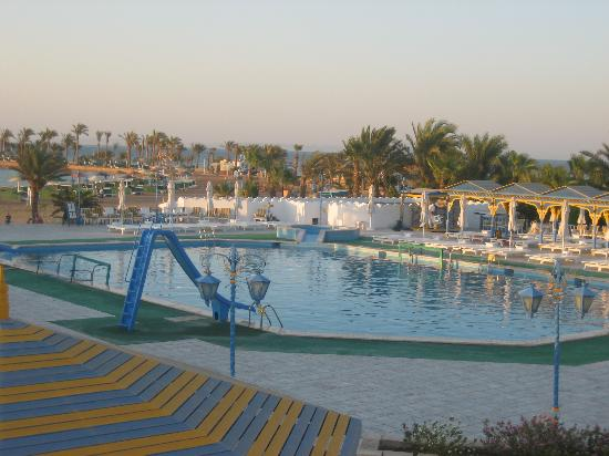 one of 3 pools  Festival Shedwan Golden Beach Resort 3*, Єгипет,  Хургада - photo