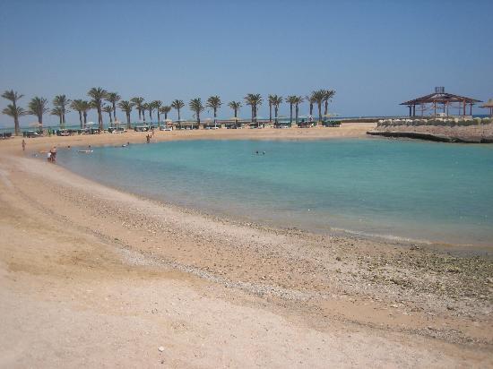 Festival Shedwan Golden Beach Resort : Private Blue Lagoon