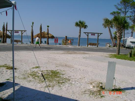 Navarre Beach Camping Resort: View with No RV in B050