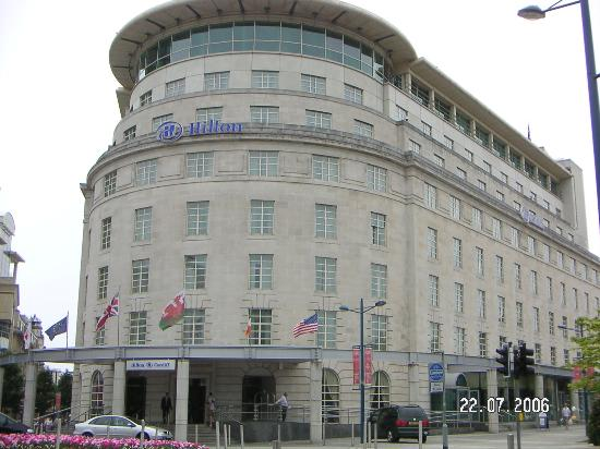 Hilton Cardiff: The front