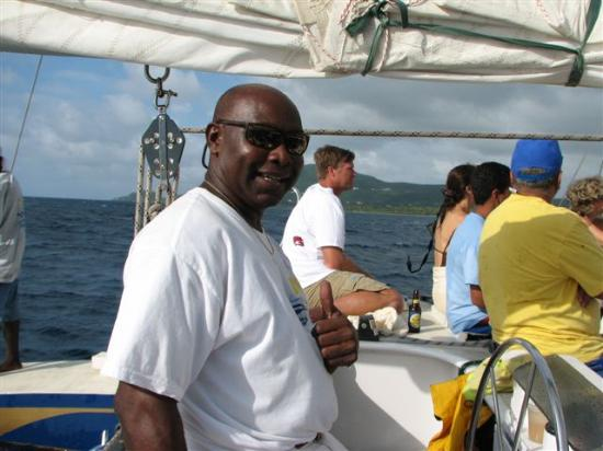 Nisbet Plantation Beach Club : Captain Goldfish