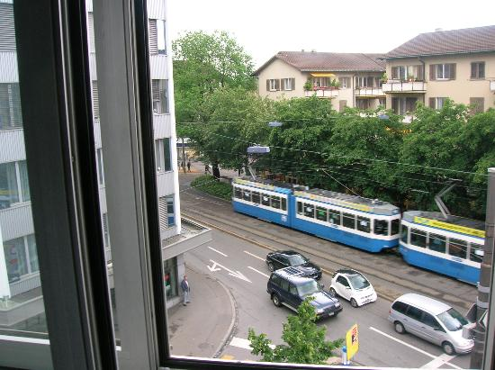 Sternen Oerlikon Hotel :                   View from the hotel room