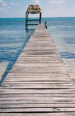 Victoria House Resort & Spa: A private dock a few doors down the beach from the VH