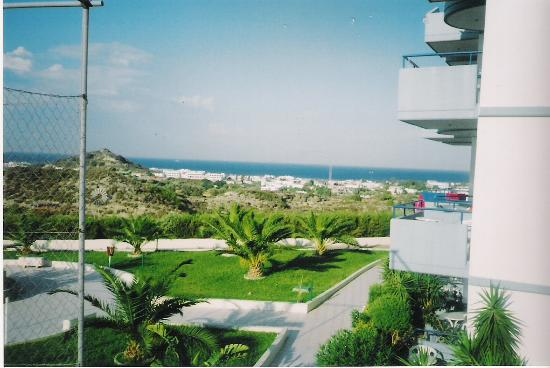 Venezia Resort : Stunning views over Faliraki Bay