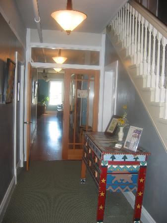 The Stevensville Hotel Entryway