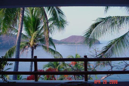 Catalina Beach Resort: View from room