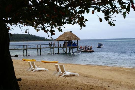 Malolo Island Resort: Main jetty