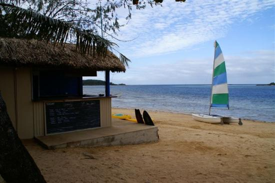 Malolo Island Resort: Activities desk