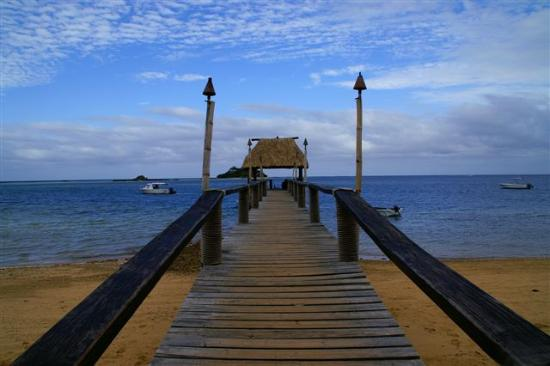 Malolo Island Resort: Main jetty