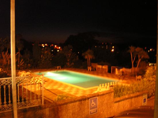 Saundersfoot, UK: Swimming Pool at night